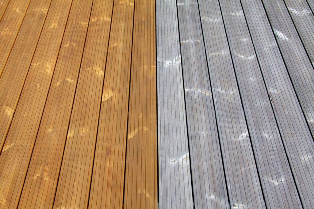 JAF - Konserwacja drewnianego tarasu