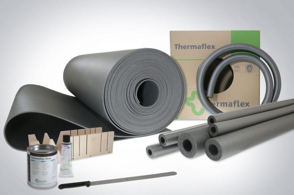 Izolacja instalacji centralnego ogrzewania i ciepłej wody użytkowej Thermaflex