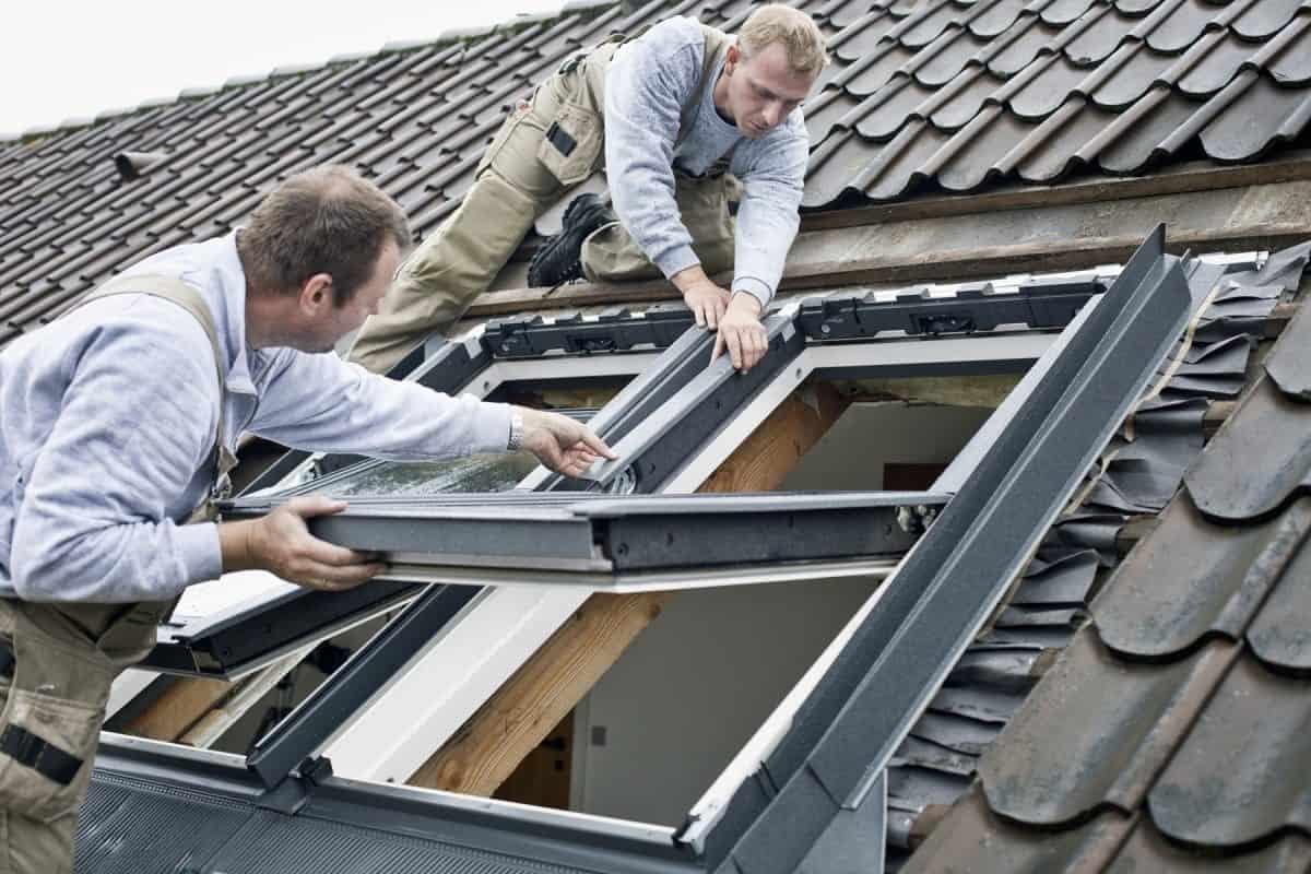 VELUX. Wymiana okna dachowego
