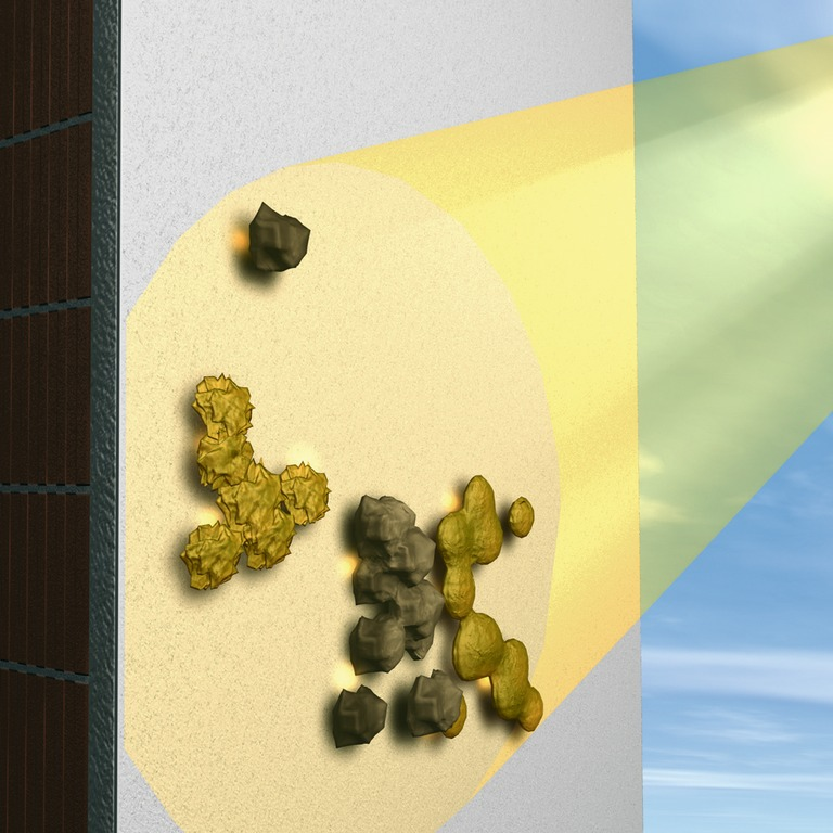 Farba elewacyjna oczyszczająca powietrze StoPhotosan