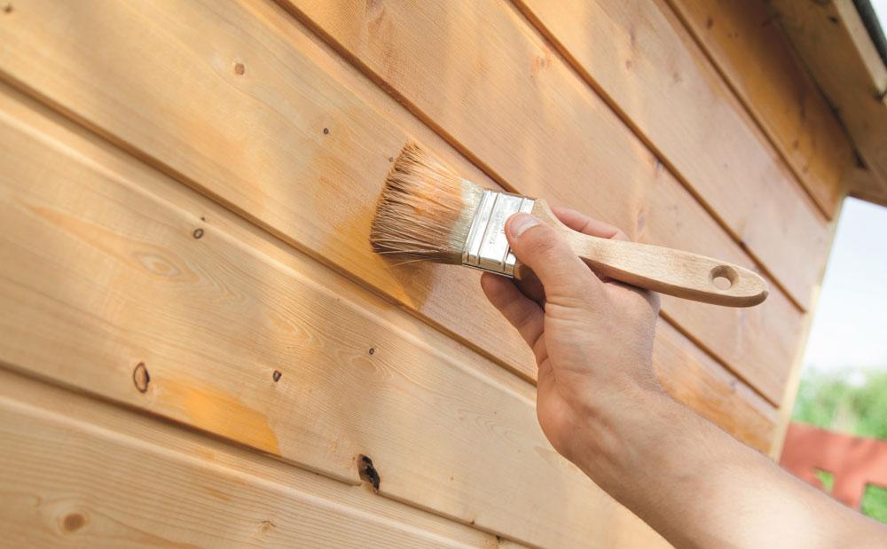Lazurowanie drewna. For. V33