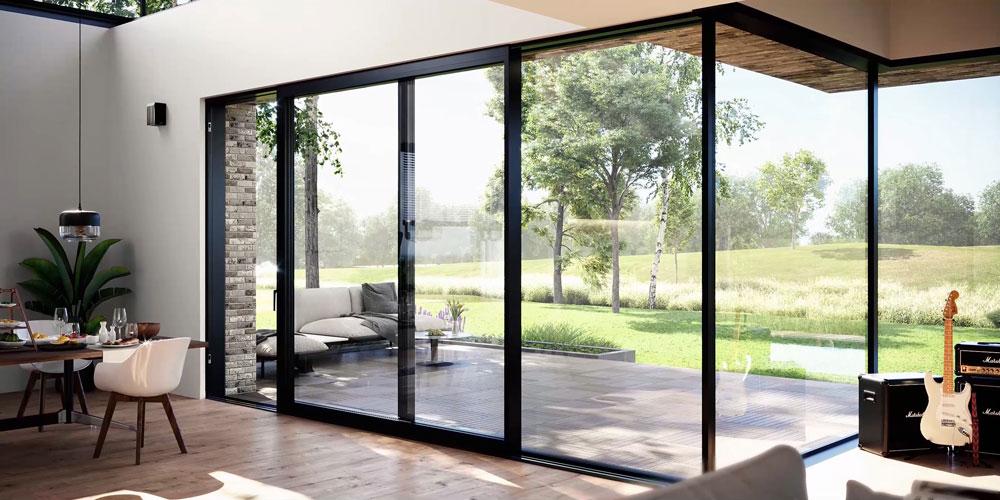 Okna i drzwi tarasowe klasy premium. Fot. Awilux
