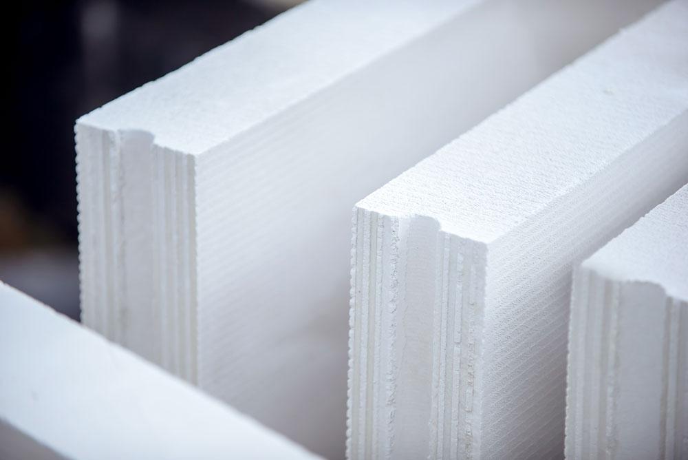 Ścianki działowe z betonu komórkowego. Fot. H+H