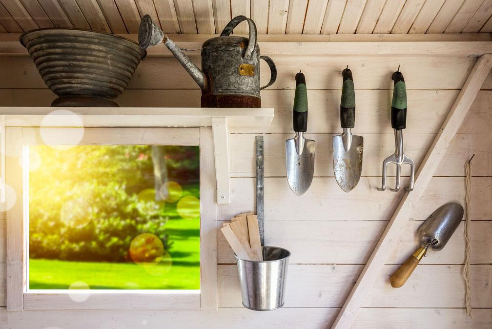 Drewno konstrukcyjne na drewniany domek ogrodowy i narzędziowy. Fot. JAF Polska