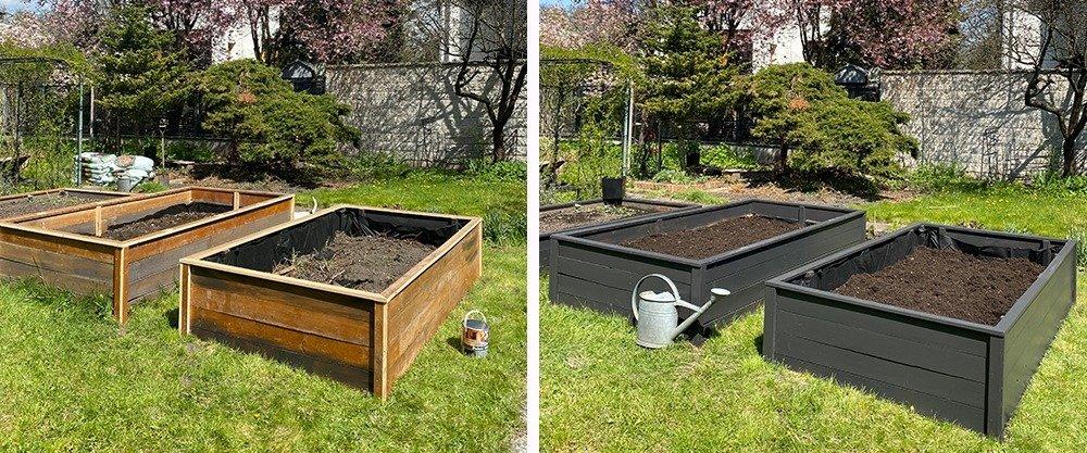 Ogródek warzywny. Budujemy skrzynię inspektową na warzywa