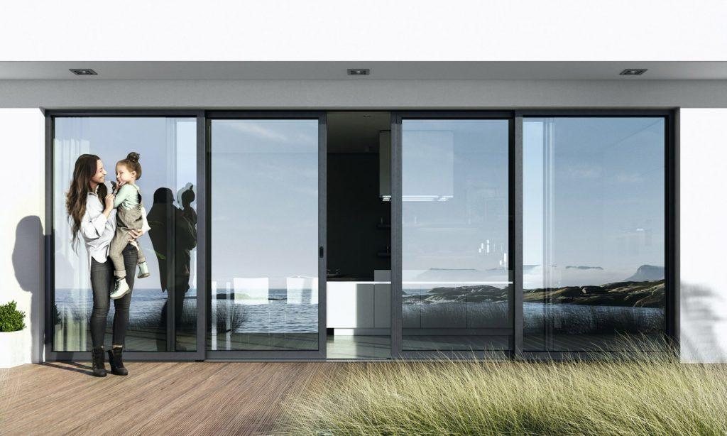 Okna i drzwi tarasowe. Rodzaje, rozwiązania PSK, HST, HS. Awilux