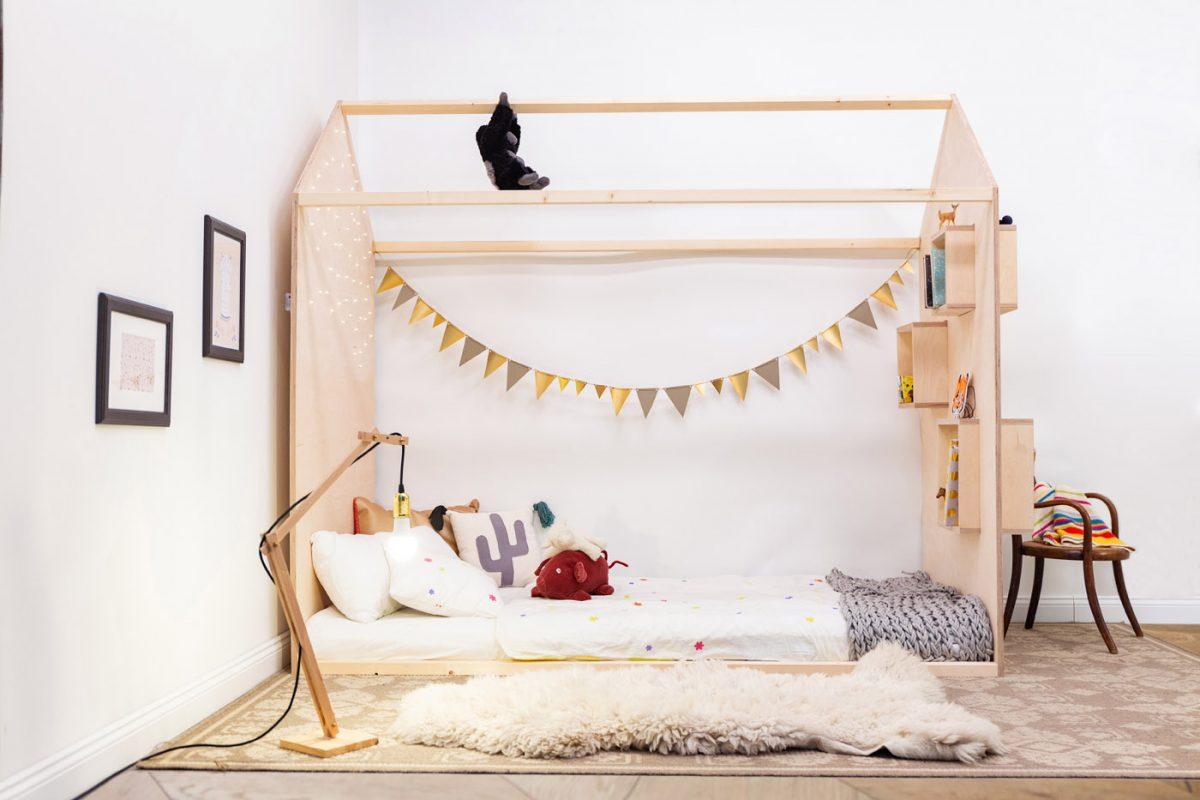 Łóżko dziecięce DOMEK. Budowa łóżka krok po kroku!