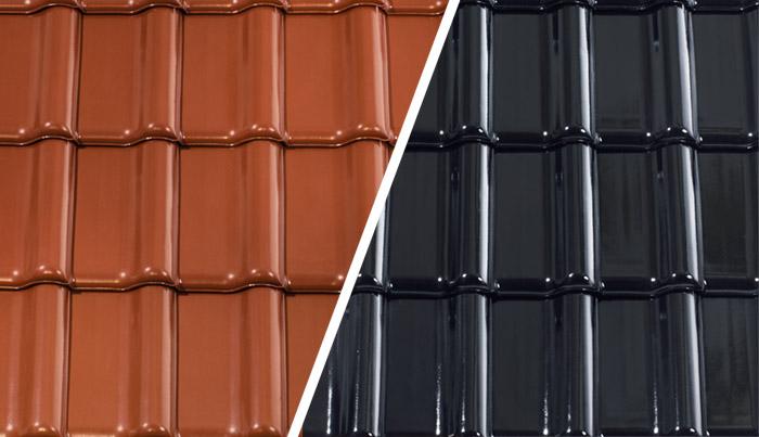 Ceramiczna dachówka glazurowana, angobowana czy naturalna? Którą wybrać?