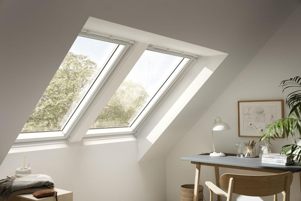 Okna dachowe zespolone. Nowy sposób montażu, bez krokwi